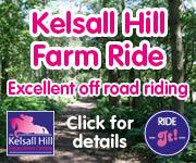 Kelsall Hill Farm Ride (Lancashire Horse)